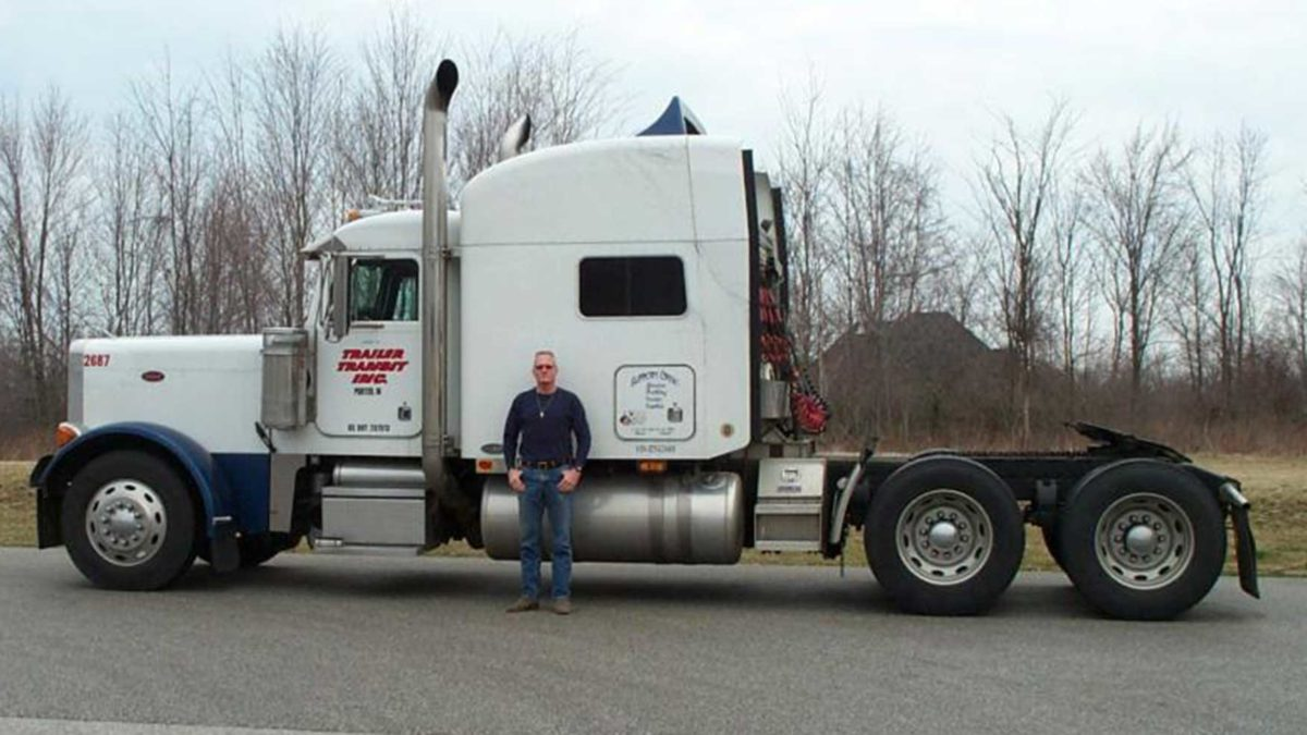 Trailer Transit Inc. Owner Operator of the Month - Paul