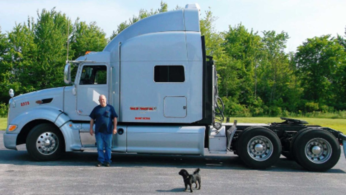 Trailer Transit Inc. Owner Operator of the Month February 2017