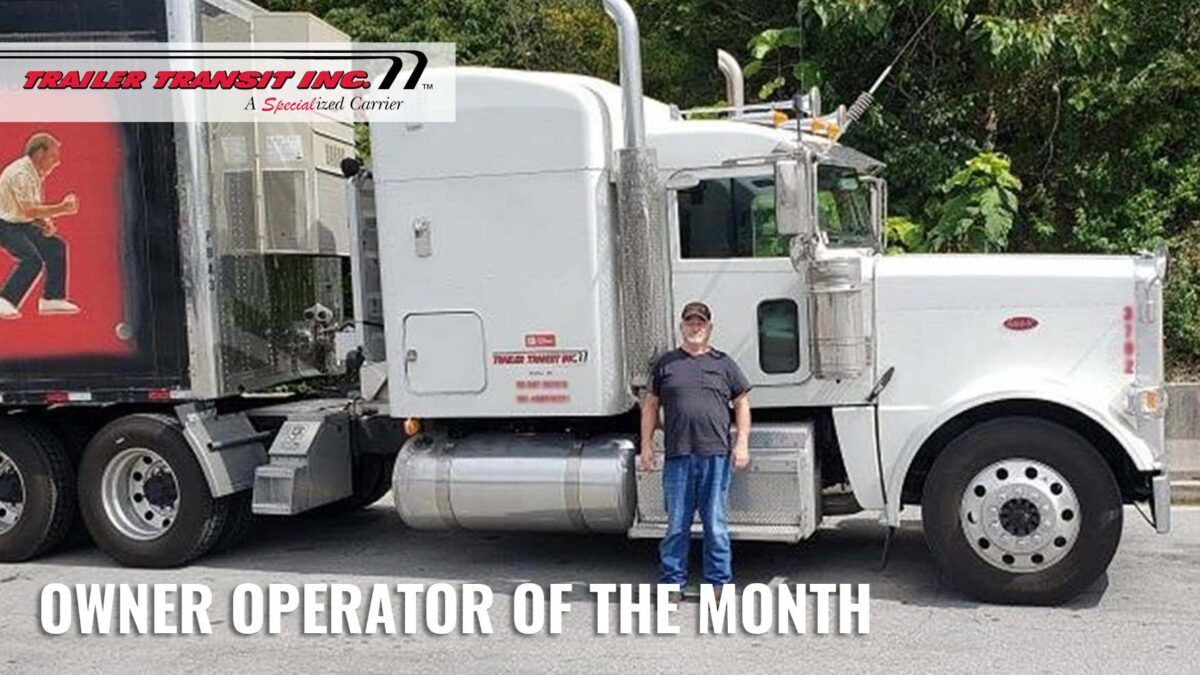 August 2020 Owner Operator of the Month
