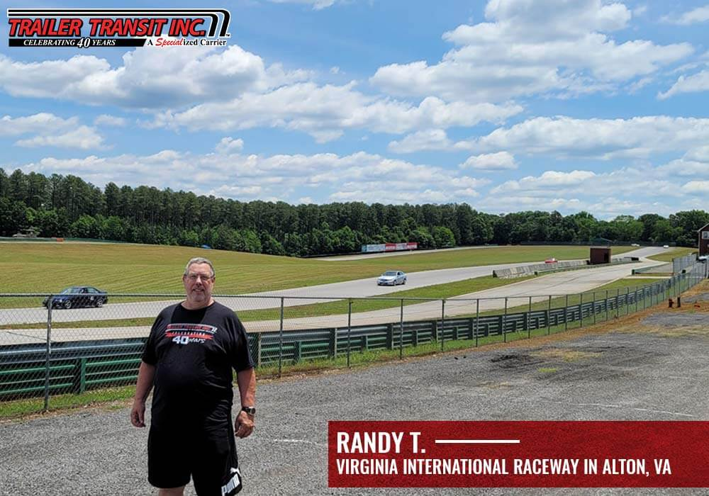 Randy T. is a Trailer Transit, Inc. Owner Operator in Virginia